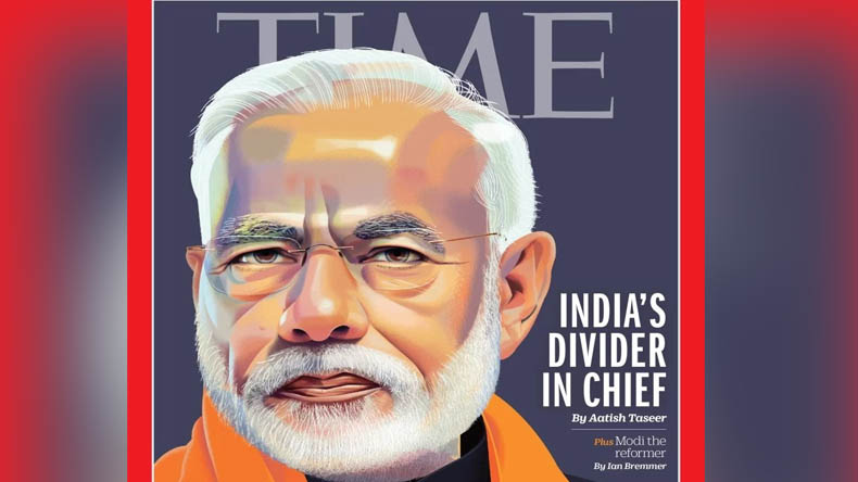 Time Magazine published Controversial Cover photo of PM Narendra Modi
