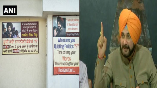 Poster-Asking-Sidhu-To-Quit-Politics