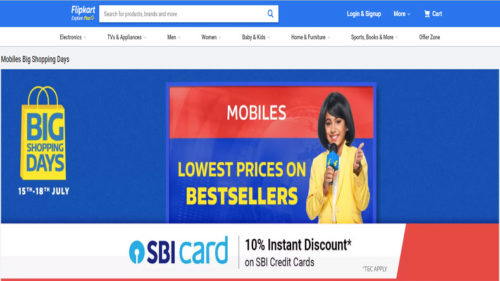Flipkart Big Shopping Days Sale