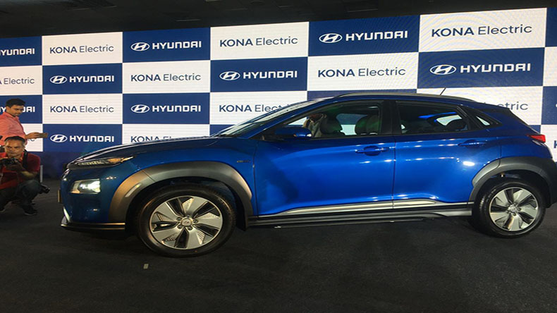 Hyundai Kona EV SUV Car Launched