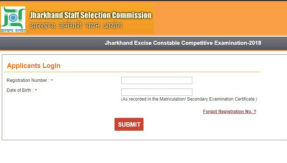 JSSC Excise Constable Admit Card Download 2019