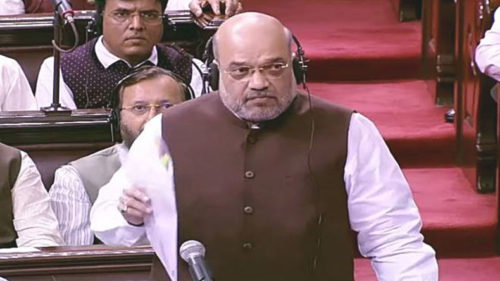 Lok Sabha Revoking Article 370 in Jammu Kashmir Bill 2019