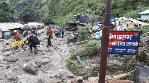 Uttrakhand Cloud Burst Floods