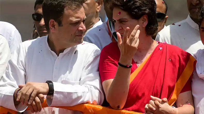 Rahul and Priyanka Gandhi on Millennial Comment