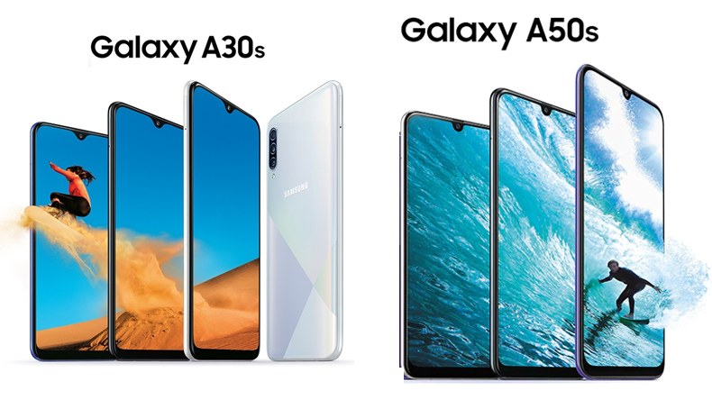 Samsung Galaxy A50s, Galaxy A30s Launched