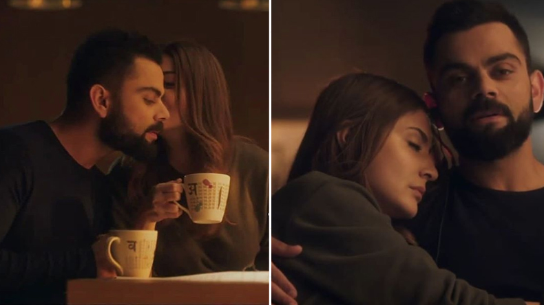 Virat Kohli Anushka Sharma Romantic Photo