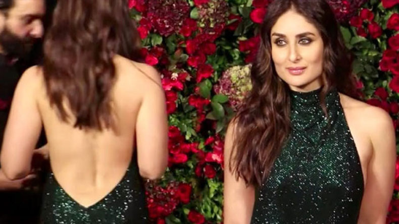 Kareena Kapoor hot sexy green gown video make your day