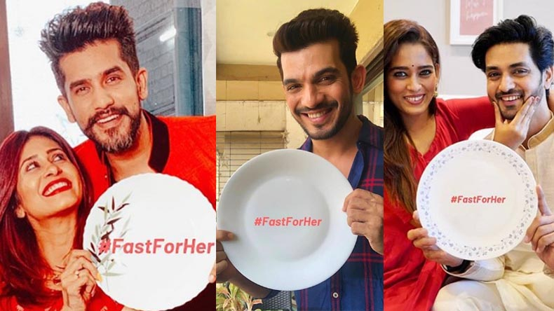Karwa Chauth 2019 Fast For Her Campaign Husbands fasting for wife with emty plate