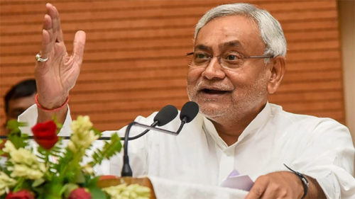 Nitish Kumar On Reducing Fertility Rate