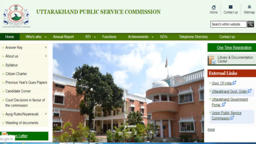 UKPSC Mains Exam Results 2019'