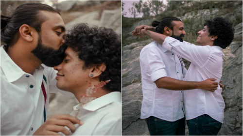 Kerala Gay Couple Pre-Wedding Shoot